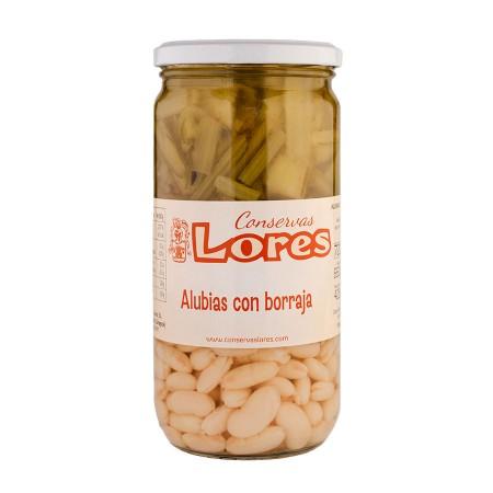 Alubias con Borrajas