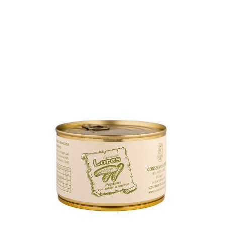 Pepinillos sabor a anchoa