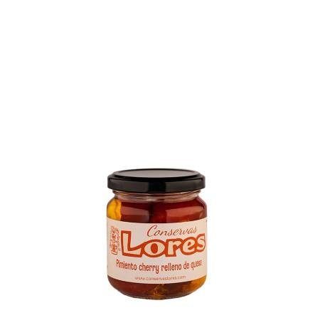Pimientos cherry con queso